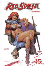 Image: Red Sonja Vol. 05 #5 (cover B - Linsner) - Dynamite