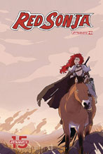 Image: Red Sonja #5 (cover D - St Onge) - Dynamite