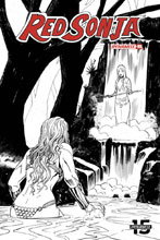 Image: Red Sonja Vol. 05 #5 (incentive cover - Bob Q B&W) (50-copy) - Dynamite