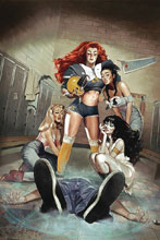 Image: Red Sonja & Vampirella Meet Betty & Veronica #2 (variant cover - Dalton virgin) - Dynamite