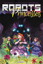 Image: Robots and Princesses Vol. 01 SC  - Dynamite