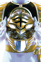 Image: Mighty Morphin Power Rangers #40 (variant Preorder Foil cover - Montes) - Boom! Studios