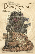 Image: Jim Henson: Beneath Dark Crystal #10 (variant Preorder cover - Petersen) - Boom! Studios