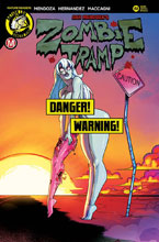 Image: Zombie Tramp #61 (cover D - Artist risque variant) - Action Lab - Danger Zone