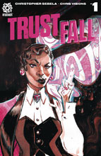 Image: Trust Fall #1 (cover A - Visions) - Aftershock Comics