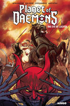 Image: Planet of Daemons: Eye of Lucifer GN  - Amigo Comics