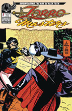 Image: Zorro Masters: Alex Toth #1 (main cover - Toth) - American Mythology Productions