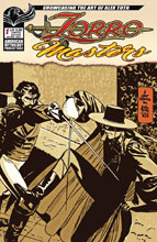 Image: Zorro Masters: Alex Toth #1 (variant cover - Toth) - American Mythology Productions