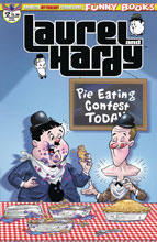 Image: Laurel & Hardy #2 (main cover - Pacheco) - American Mythology Productions