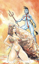 Image: Cavewoman: Riptide One-Shot  (cover A - Massey) - Amryl Entertainment