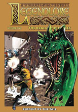 Image: Legendlore Vol. 05: The Realm Chronicles - Serpent By the Tail SC  - Caliber Entertainment