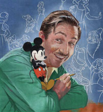 Image: Walt's Imagination: The Life of Walt Disney SC  - Disney - Hyperion