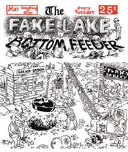 Image: Fake Lake GN  - Drawn & Quarterly