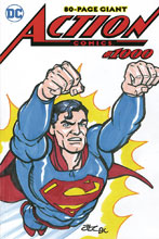 Image: Action Comics #1000 (DFE signed - Adam & Rebekah Cleveland remarked) - Dynamic Forces
