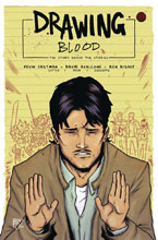 Image: Drawing Blood: Splilled Ink #2 (cover A - Bishop) - Kevin Eastman Studios