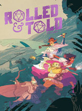 Image: Rolled and Told Vol. 01 HC  - Lion Forge