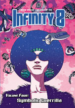 Image: Infinity 8 Vol. 04: Symbolic Guerrilla HC  - Lion Forge