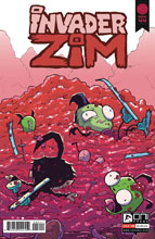 Image: Invader Zim #44 (cover A - Warren Wucinich) - Oni Press Inc.