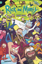 Image: Rick and Morty Book 04 HC  (deluxe edtion) - Oni Press Inc.