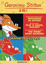 Image: Geronimo Stilton 3-in-1 Vol. 03  - Papercutz
