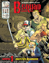 Image: B-Squad Vol. 01 SC  - Starburns Industries Press