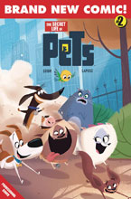 Image: Secret Life of Pets #2 (cover A - Goum) - Titan Comics