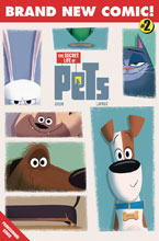 Image: Secret Life of Pets #2 (cover B - Goum) - Titan Comics