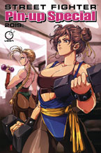 Image: Street Fighter 2019 Pinup Special #1 (cover A - Liu) - Udon Entertainment Inc