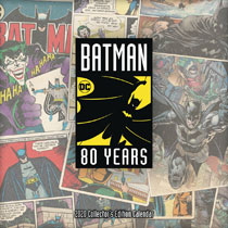 Image: Batman 80th Anniversary Collected Edition 2020 Calendar  - Trends Intl