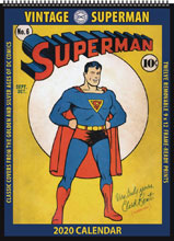 Image: Vintage DC Comics 2020 Wall Calendar: Superman  - Asgard Press