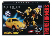 Image: Transformers Movie Masterpiece Bumblebee Action Figure Case  - Hasbro Toy Group