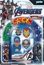 Image: Marvel Perler Arch Blister Kit: Avengers  - Simplicity Creative Corp.