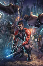 Image: Nightwing #73 (Joker War) (variant cover - Alan Quah) - DC Comics
