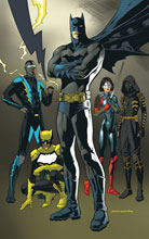Image: Batman and the Outsiders Vol. 02: A League of Their Own SC  - DC Comics