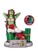 Image: DC Bombshells Statue: Poison Ivy  (Holiday variant) - DC Comics