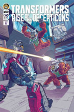Image: Transformers #22 (incentive 1:10 cover - Chan) - IDW Publishing