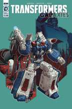 Image: Transformers: Galaxies #10 (cover A - Griffith) - IDW Publishing