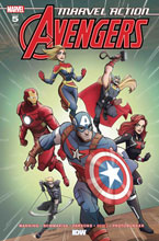 Image: Marvel Action: Avengers #5 (2020) (incentive 1:10 cover - Franquiz) - IDW Publishing