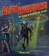 Image: Alien Invasions: History of Aliens in Pop Culture HC  - IDW Publishing