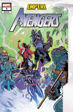 Image: Empyre: Avengers #3 (variant cover - Medina) - Marvel Comics