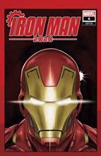 Image: Iron Man 2020 #6 (variant Heads cover - Superlog) - Marvel Comics