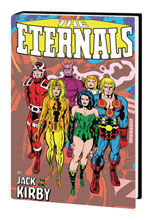 Image: Eternals by Jack Kirby Monster-Size HC  - Marvel Comics