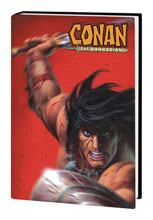 Image: Conan the Barbarian by Kurt Busiek Omnibus HC  (variant DM cover - Linsner) - Marvel Comics