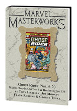 Image: Marvel Masterworks: Ghost Rider Vol. 02 HC  (variant DM cover) (297) - Marvel Comics