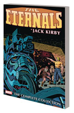 Image: Eternals by Kirby Complete Collection SC  (main cover - Remaster) - Marvel Comics