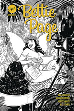 Image: Bettie Page Vol. 03 #1 (incentive 1:10 cover - Kano B&W)  [2020] - Dynamite