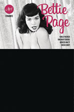 Image: Bettie Page #1 (variant Black Bag Photo cover) - Dynamite