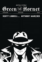 Image: Green Hornet Vol. 03 #1 (incentive 1:20 cover - Marques B&W) - Dynamite
