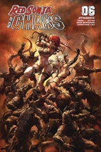 Image: Red Sonja: Age of Chaos #6 (cover B - Quah) - Dynamite
