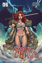 Image: Red Sonja: Age of Chaos #6 (cover C - Garza) - Dynamite